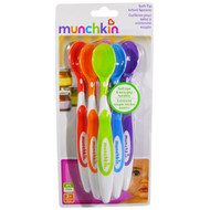 3 PACK of Munchkin Soft Tip Infant Spoons Multi-Color -- 6 Pack