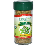 3 PACK of Frontier Natural Products, Organic Italian Seasoning with Mediterranean Oregano, 0.64 oz (18 g)
