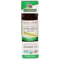 3 PACK OF Natures Answer, Organic Essential Oil, 100% Pure Citronella, 0.5 fl oz (15 ml)