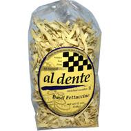 3 PACK of Al Dente Pasta, Basil Fettuccine Noodles, 12 oz (341 g)