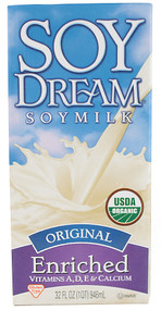 Imagine Foods, Organic Soy Dream Soy Milk,  Original - 32 fl oz -5 PACK