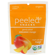 3 PACK OF Peeled Snacks, Gently Dried, Organic, Mango, 2.8 oz (80 g)