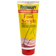 3 PACK of Queen Helene, Footherapy, Invigorating Foot Scrub, Cranberry Mint, 7 oz (198 g)