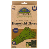 3 PACK of If You Care, Household Gloves, Medium, 1 Pair