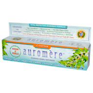 3 PACK of Auromere, Ayurvedic Herbal Toothpaste, Classic, 4.16 oz (117 g)