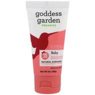 3 PACK OF Goddess Garden, Organics, Natural Sunscreen, Baby, SPF 30, 1 oz (28 g)
