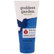 3 PACK OF Goddess Garden, Organics, Kids Sport, Natural Sunscreen, SPF 30, 1 oz (28 g)