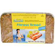 3 PACK of Mestemacher, Fitness Bread with Whole Rye, Oat Kernels and Wheat Germs, 17.6 oz (500 g)