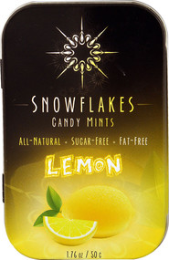 5 PACK of Snowflakes Candy Mints Sugar Free Lemon - 1.76 oz