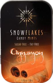 Snowflakes Candy Mints Sugar Free Cinnamon - 1.76 oz