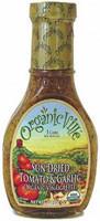 Organicville, Organic Vinaigrette,  Sun Dried Tomato and Garlic - 8 fl oz -5 PACK