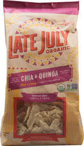 Late July Snacks, Tortilla Chips Restaurant Style,  Chia & Quinoa - 11 oz -5 PACK