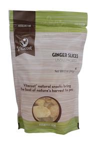 Vitaco, Unsulphured Ginger Slices - 8.5 oz (241 g) -5 PACK