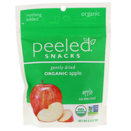 3 PACK OF Peeled Snacks, Gently Dried, Organic, Apple, 2.8 oz (80 g)