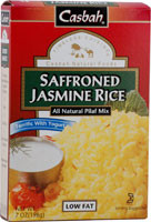 Casbah, Saffroned Jasmine Rice - 7 oz -5 PACK