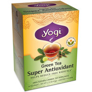 3 PACK of Yogi Tea, Green Tea Super Antioxidant, 16 Tea Bags, 1.12 oz (32 g)