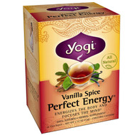 3 PACK of Yogi Tea, Perfect Energy, Vanilla Spice, 16 Tea Bags, 1.12 oz (32 g)
