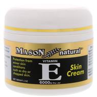 3 PACK OF Mason Natural, Vitamin E, Skin Cream, 6000 IU, 2 oz