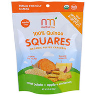3 PACK OF NurturMe, 100% Quinoa Squares, Toddler + Kid, Sweet Potato + Apple + Cinnamon, 1.76 oz (50 g)