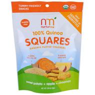 NurturMe, 100% Quinoa Squares, Toddler + Kid, Sweet Potato + Apple + Cinnamon, 1.76 oz (50 g)