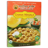 3 PACK of Great Eastern Sun, Mother India Organics, Chana Masala, Hot Spicy, 10.6 oz (300 g)