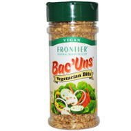 3 PACK of Frontier Natural Products, BacUns, Vegetarian Bits, 2.47 oz (70 g)