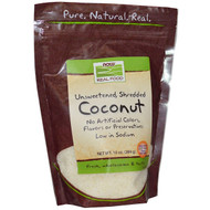 Now Foods, Real Food, Coconut, 10 oz (284 g)