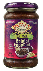 Pataks, Original Relish,  Brinjal Eggplant - 11 oz -5 PACK
