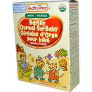 3 PACK of Healthy Times, Organic Cereal for Baby,  Barley,  8 oz (227 g)