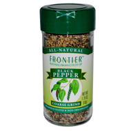 Frontier Natural Products, Black Pepper, Coarse Grind, 1.76 oz (50 g) (5 PACK)