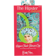 3 PACK OF Betty Dain Creations, The Hipster Collection, Hippie Chick Shower Cap, 1 Shower Cap