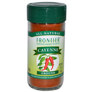 3 PACK of Frontier Natural Products, Cayenne, Ground, 1.76 oz (50 g)