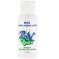 3 PACK of Rixx, Natural Herbal Lotion, 2 oz (57 g)