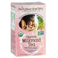 3 PACK of Earth Mama, Organics, 100% Organic Milkmaid Tea, Fragrant Fennel Herb, Caffeine Free, 16 Tea Bags, 1.23 oz (35 g)