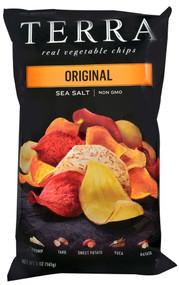 Terra, Exotic Vegetable Chips,  Original - 5 oz -5 PACK