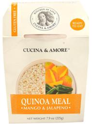 Cucina & Amore, Quinoa Meal,  Mango & Jalapeno - 7.9 oz -5 PACK