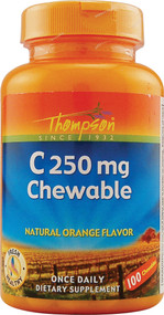 Thompson C Chewables Orange - 250 mg - 100 Chewables