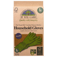3 PACK of If You Care, Household Gloves, Reusable, Large, 1 Pair