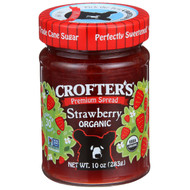 3 PACK of Crofters Organic, Crofters, Organic  Strawberry, 10 oz (283 g)