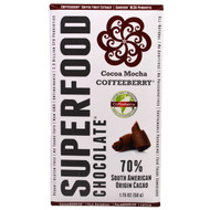 5 PACK of Good Superfoods, Superfood Chocolate, Cocoa Mocha Coffeeberry, 1.75 oz (50 g)
