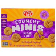 Enjoy Life Foods, Crunchy Minis, Sugar Crisp Individual Snack Packs, 6 Packs, 1 oz (28 g) Each