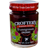 3 PACK of Crofters Organic, Organic, Premium Spread, Pomegranate, 10 oz (283 g)