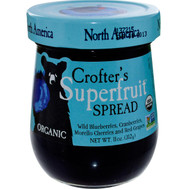 3 PACK of Crofters Organic, Organic, Superfruit Spread, North America, 11 oz (312 g)