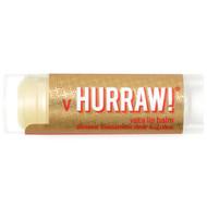 3 PACK of Hurraw! Balm, Vata Lip Balm, Almond Cardamom Rose, .15 oz (4.3 g)