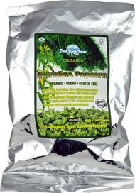 3 PACK of Mauk Family Farms Spirulina Popcorn -- 4.5 oz