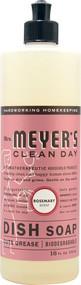 Mrs. Meyers, Clean Day Liquid Dish Soap Rosemary - 16 fl oz -5 PACK