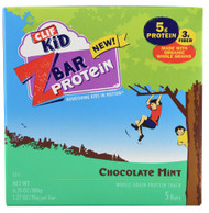 Clif, Kid ZBar Protein,  Chocolate Mint - 5 Bars -5 PACK