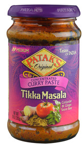 3 PACK of Pataks Original Concentrated Curry Paste Tikka Masala -- 10 oz