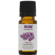 3 PACK OF Now Foods, Essential Oils, Lavender, 1/3 fl oz (10 ml)