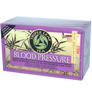 3 PACK of Triple Leaf Tea, Blood Pressure, Caffeine-Free, 20 Tea Bags, 1.4 oz (40 g)